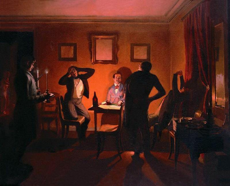 Игроки. 1852. Павел Федотов