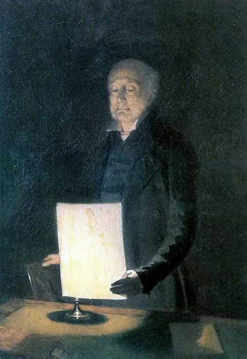 Портрет Егора Гавриловича Флуга. 1848. Pavel Fedotov