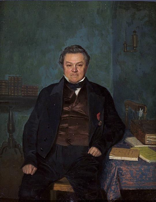 Portrait of Fyodor Yakovlev. Pavel Fedotov