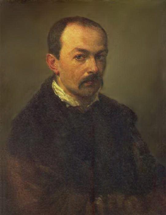 Автопортрет. 1848. Pavel Fedotov