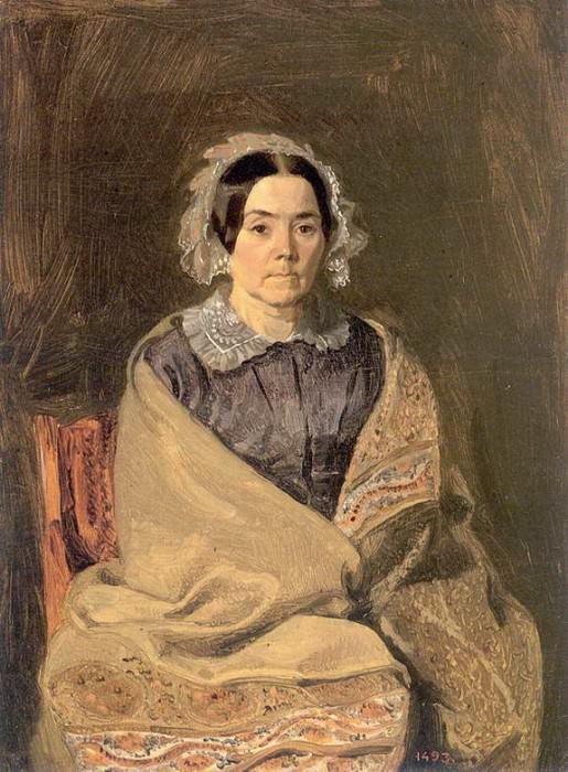 Портрет Н.П.Чернышевой.1846. Pavel Fedotov