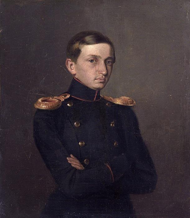 Portrait of Mikhail Zhdanovich. Pavel Fedotov
