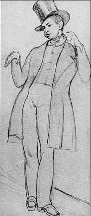 Молодой человек с бутербродом. 1849. Pavel Fedotov