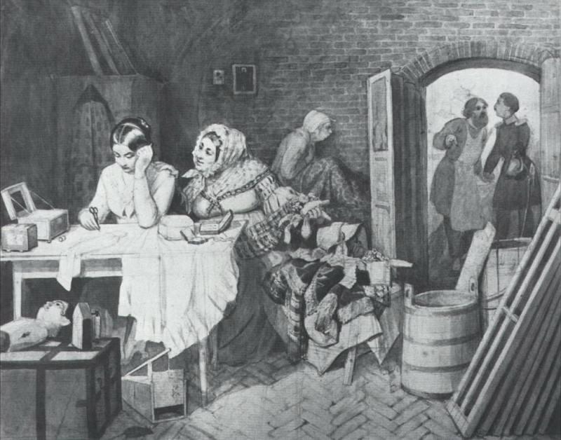 Мышеловка. 1846. Pavel Fedotov