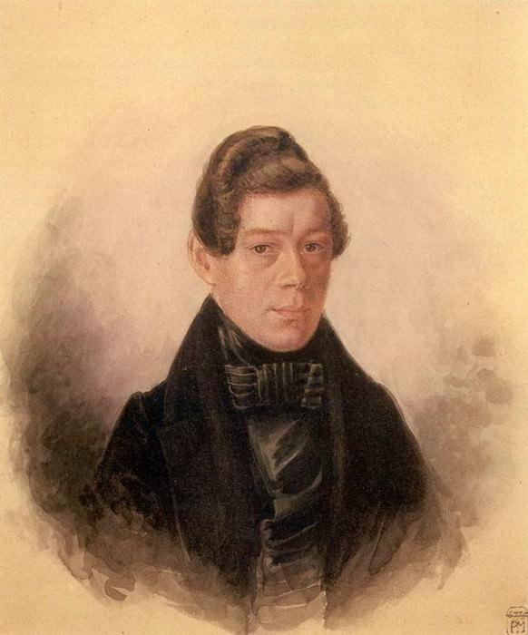 Портрет М.М.Родивановского. 1836. Pavel Fedotov