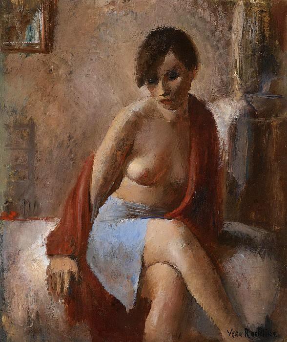Портрет женщины. Вера Николаевна Рохлина