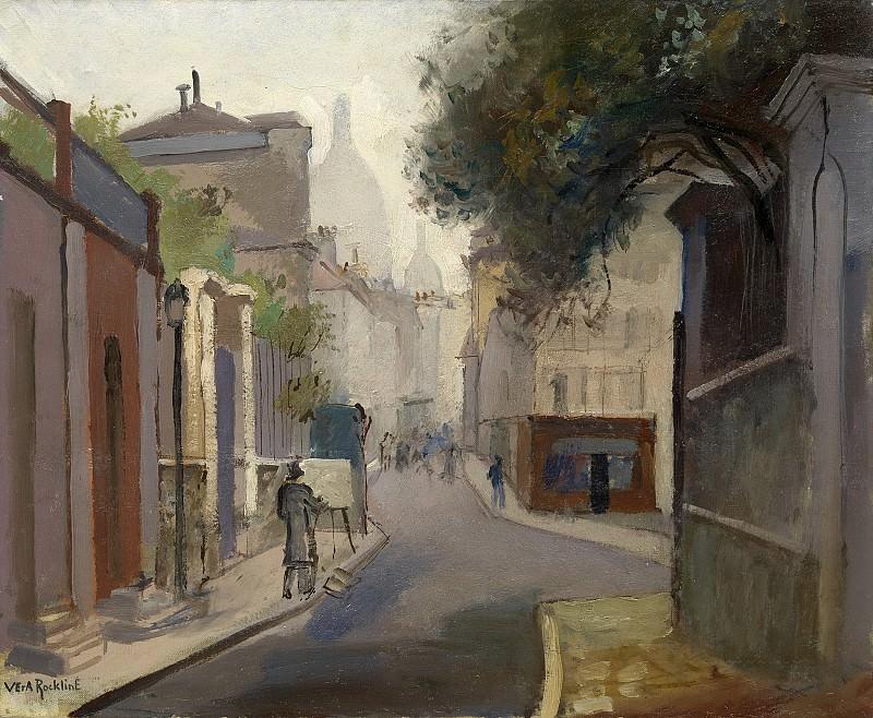 Parisian Street Scene. Vera Rockline
