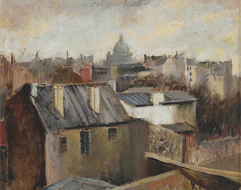 The Roofs Of Paris. Vera Rockline