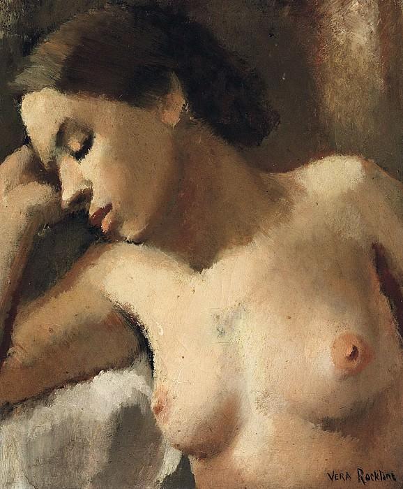 Sleeping Nude. Vera Rockline