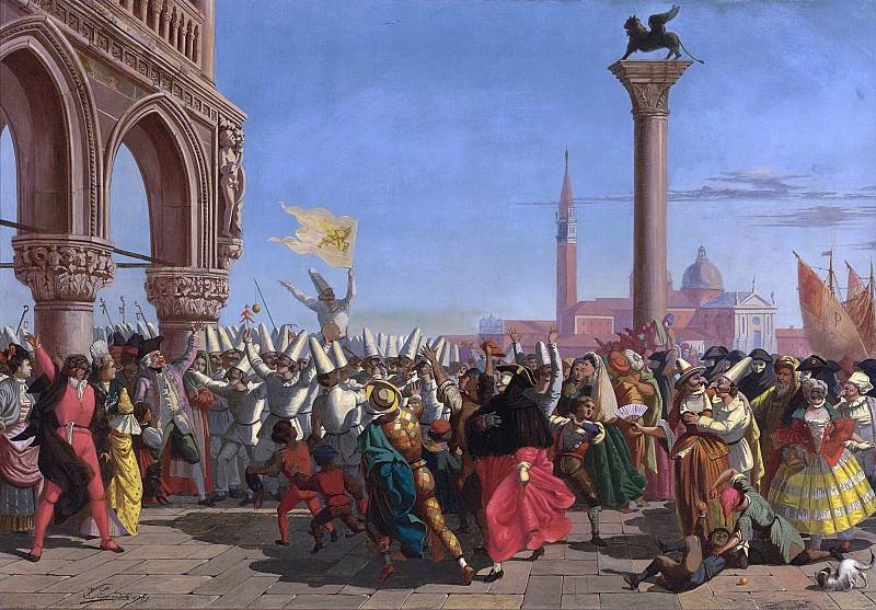 Венецианский карнавал. Винсент Степевич