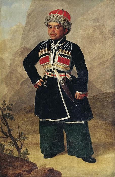 Ахметка, карлик Николая I. Alexander Zaurweid