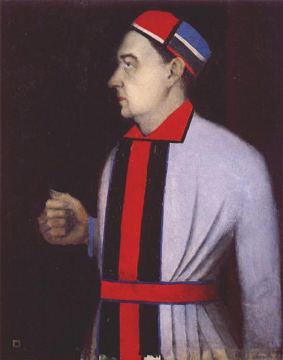 malevich male portrait (n n punin) 1933. Казимир Северинович Малевич
