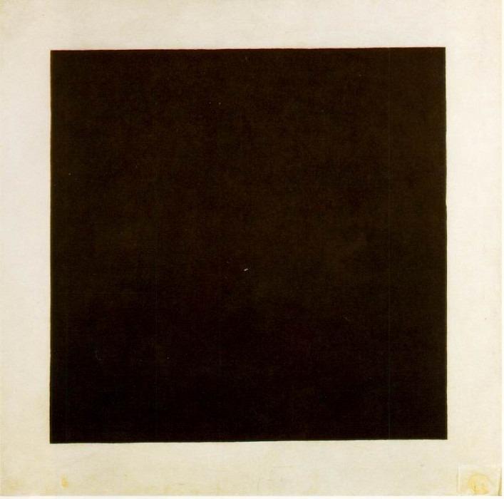 Black square. Kazimir Malevich