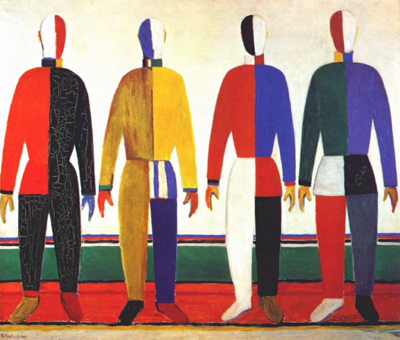 malevich sportsmen 1928-30. Kazimir Malevich