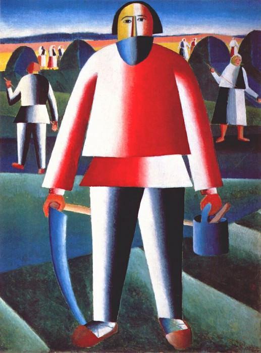 malevich haymaking c1927-9. Kazimir Malevich