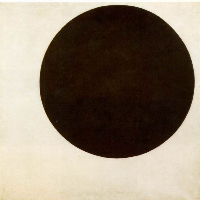 Black circle. Kazimir Malevich
