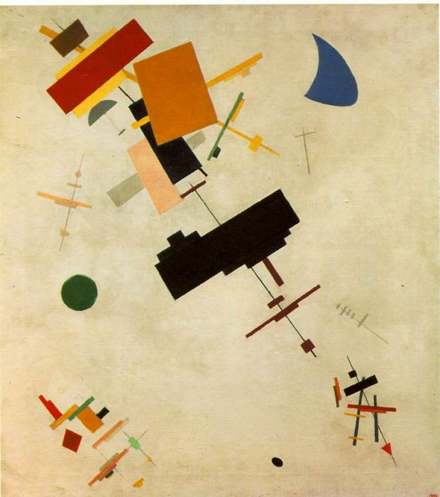 Malevitj Supremus No.56 1916,State Russian Museum, St. Peter. Kazimir Malevich