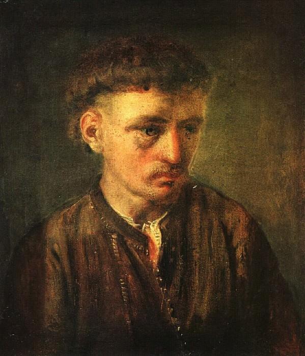 Молодой украинский крестьянин. 1820-е. Vasily Tropinin
