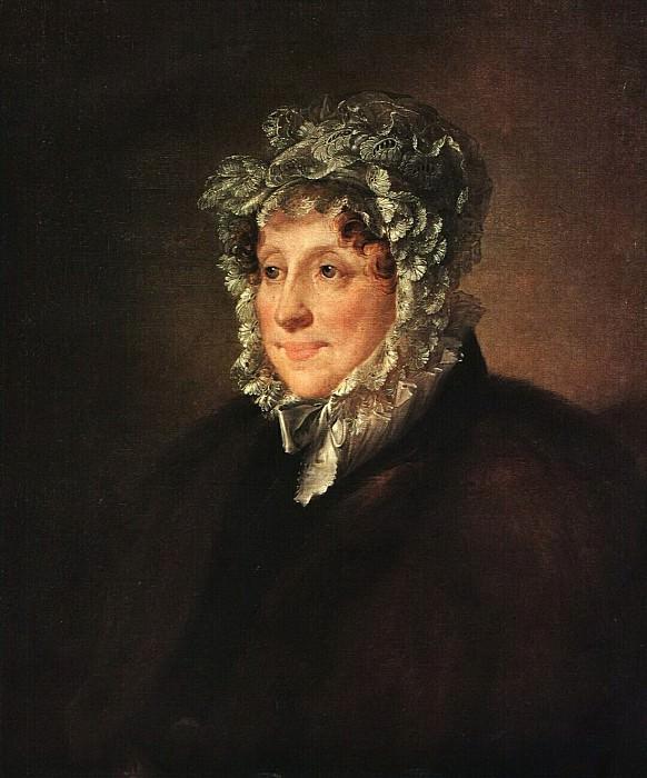 Портрет пожилой женщины в чепце. 1820-е. Василий Андреевич Тропинин