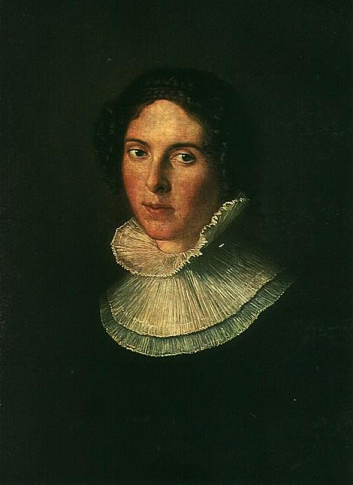 Портрет Е. И. Нарышкиной. Не позднее 1816. Василий Андреевич Тропинин