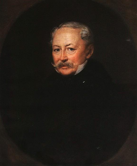 Портрет Н. С. Меншикова. 1852. Василий Андреевич Тропинин