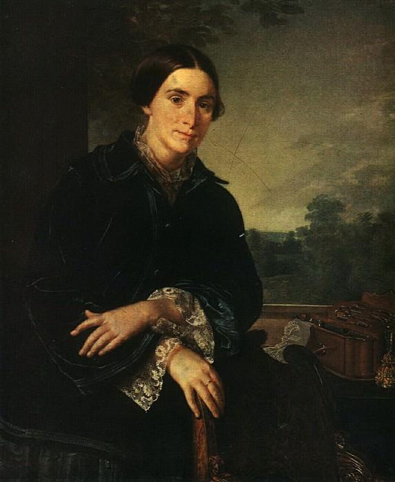 Портрет Е. А. Селивановской. 1852. Василий Андреевич Тропинин