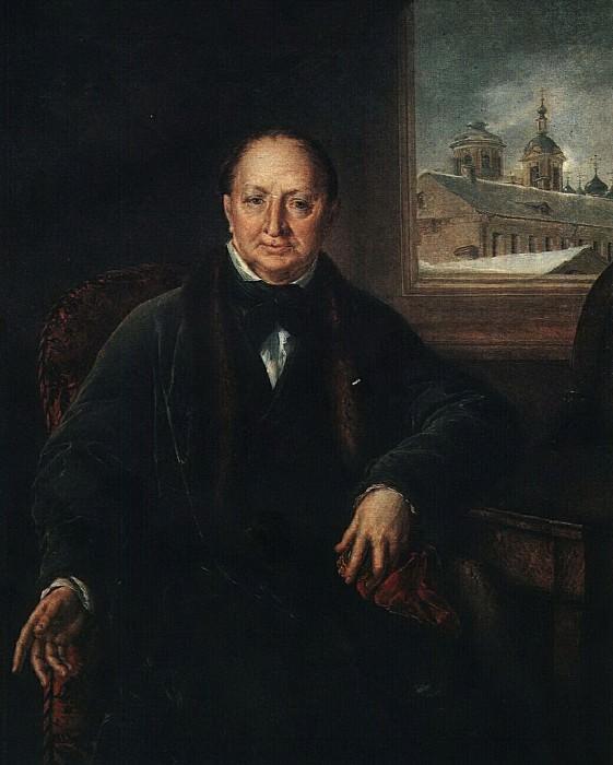 Портрет М. Ф. Протасьева. 1840-е. Vasily Tropinin