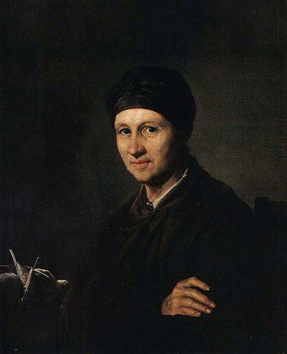 Портрет А. И. Тропининой. 1820-е. Vasily Tropinin