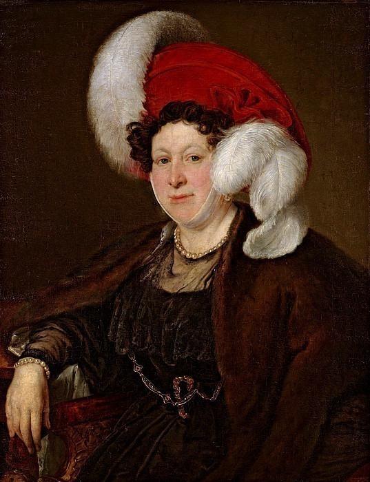 Portrait of Countess Natalya Zubova. Vasily Tropinin