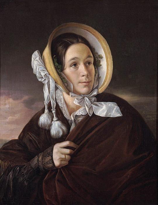 Portrait of P.I.Sheremetevskaya. Vasily Tropinin