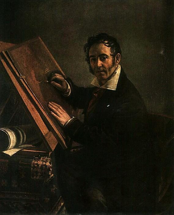 Портрет Н. И. Уткина. 1824. Vasily Tropinin
