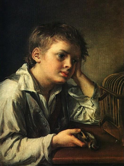 Мальчик с мертвым щегленком. 1829. Vasily Tropinin