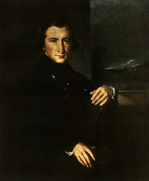 Портрет Ю. Ф. Самарина. 1844. Vasily Tropinin