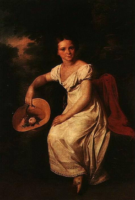 Портрет танцовщицы Т. С. Карпаковой. 1818. Vasily Tropinin
