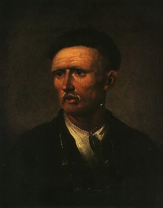 Портрет пожилого украинского крестьянина. Повторение портрета 1820. Vasily Tropinin