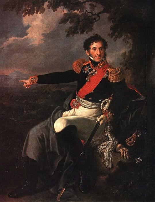 Портрет П. И. Багратиона. 1816. Василий Андреевич Тропинин
