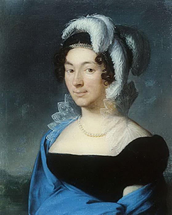 Портрет Боцигетти. 1818. Vasily Tropinin