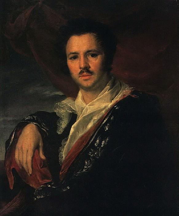 Портрет Н. А. Майкова. 1821. Vasily Tropinin