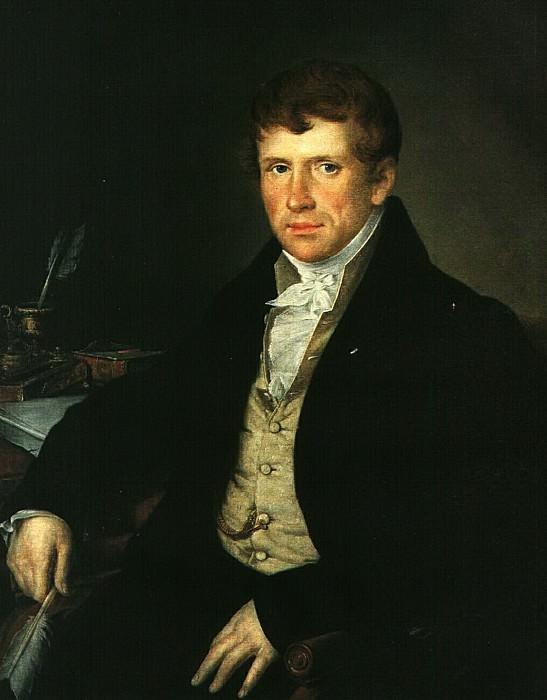 Портрет Д. В. Киселева. 1834. Vasily Tropinin