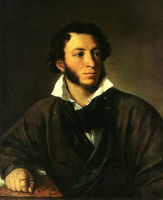 Портрет А. С. Пушкина. 1827. Василий Андреевич Тропинин