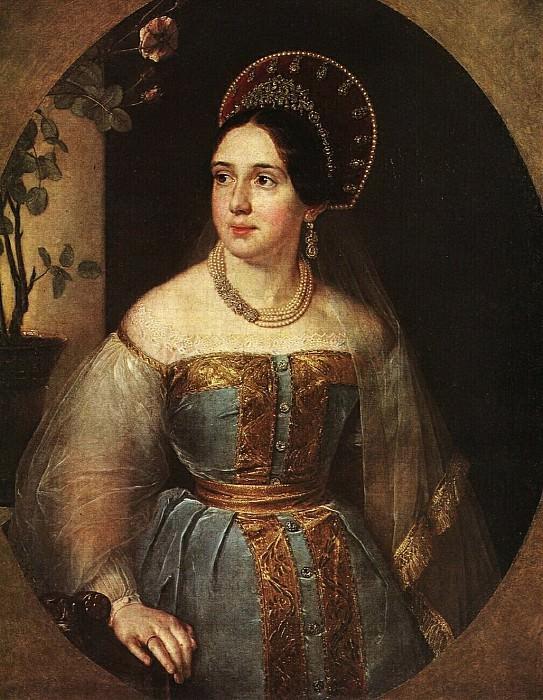 Портрет Е. И. Карзинкиной. После 1838. Vasily Tropinin