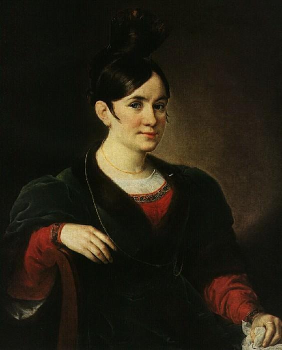 Портрет Киселевой. Около 1834. Василий Андреевич Тропинин