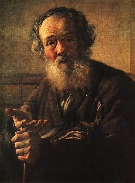 Нищий старик. 1823. Vasily Tropinin