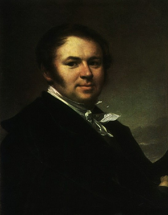 Автопортрет. 1830-е. Василий Андреевич Тропинин