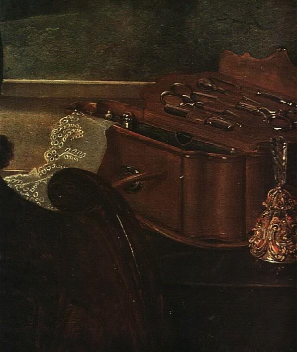 Портрет Н. А. Селивановского. Фрагмент. 1843. Vasily Tropinin