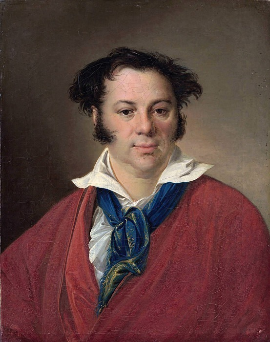 Портрет Константина Георгиевича Равича. 1823. Холст, масло. 66х52 см. Василий Андреевич Тропинин