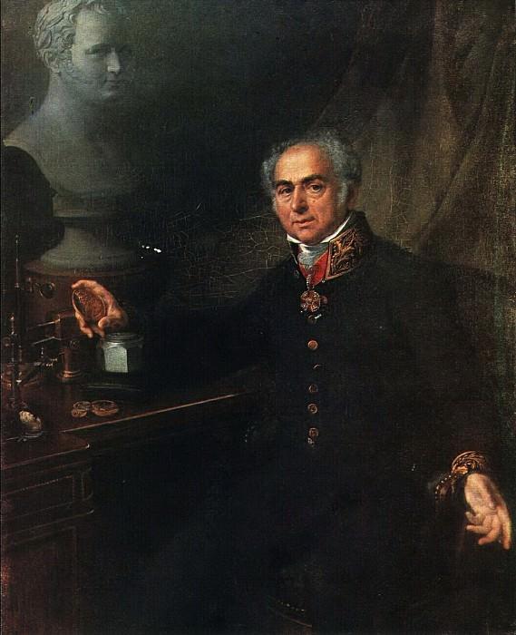 Портрет К. А. Леберехта. 1824. Vasily Tropinin