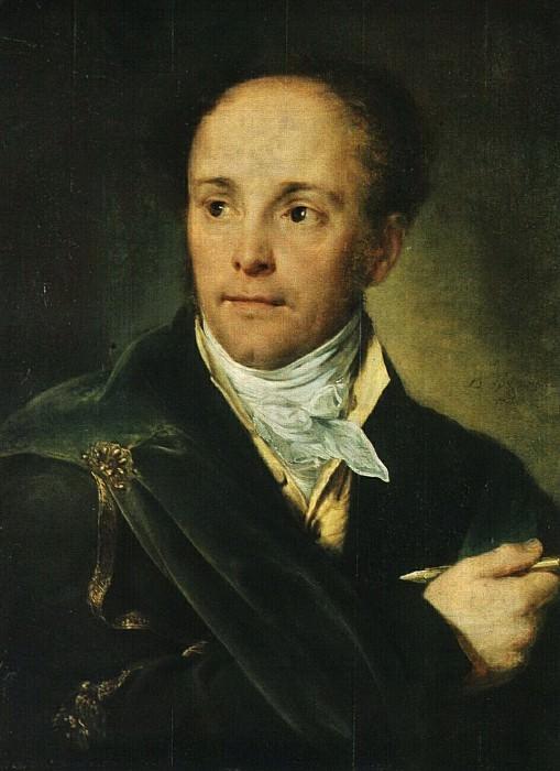 Портрет Е. О. Скотникова. 1821. Василий Андреевич Тропинин