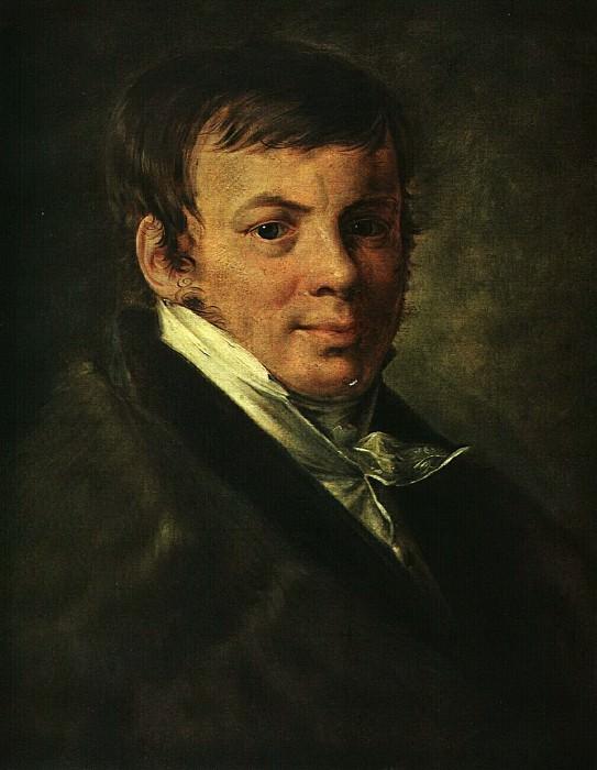 Портрет В. С. Энева. 1820-е. Василий Андреевич Тропинин