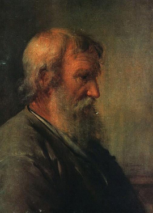 Старик крестьянин. 1825. Василий Андреевич Тропинин